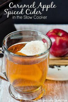 Knock-off Starbuck's Caramel Apple Spiced Cider Recipe