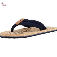 5956fe112f27a3 Tommy Hilfiger Lisette Women US 7.5 Black Slingback Sandal