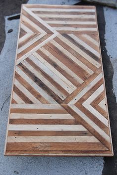 Lots of salvaged wood table top ideas.