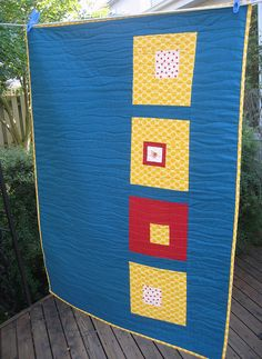 This is a cute quilt back idea you use up your scraps and if you ever have a Ouch on the front you can patch it