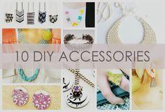 10 DIY Accessories