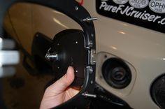 Locking Billet Fuel Door    PureFJCruiser.com