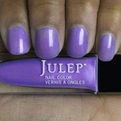 Kayla - Electric iris sheer with violet sheen