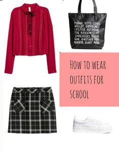 How to wear outfits for school/teens/fall как одеться в школу
