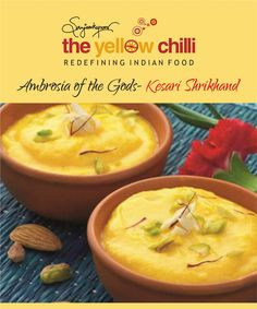 Gorge on delectable delights of the celebrated chef Sanjeev Kapoor only at The Yellow Chilli  ‪#‎SanjeevKapoor‬ ‪#‎YellowChilli‬ ‪#‎Foodlover‬ ‪#‎IndainRestaurant‬