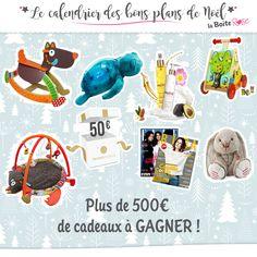 Du 01 au 24 décembre, La Boîte Rose vous gâte ! Plus de 500€ de cadeaux à GAGNER en participant à notre Grand Jeu du Calendrier des bons plans de Noël ! Vite :)