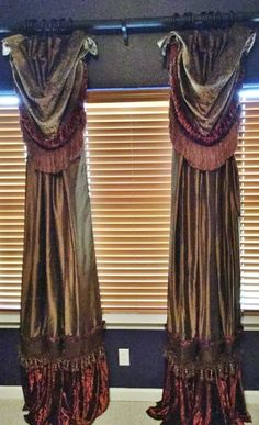 DRAPERIES: Luxury Drapes and Window Treatments by Reilly-Chance Collection. Place your order today...in your home in about a week!