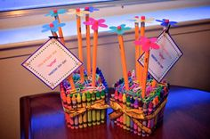 Teacher Appreciatoin Week is May 6th-10th. Order yours today!  Teacher Appreciation Gift  Crayon and Pencil Vase by ThePastryChic, $20.00