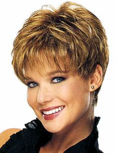 Trendy Hairstyles For More Volume - Short Hairstyles Women - Women short hair Styles - Cheveux Haircuts For Fine Hair, Hairstyles Over 50, Short Hairstyles For Women, Trendy Hairstyles, Bob Hairstyles, Pixie Haircuts, Glasses Hairstyles, Sassy Haircuts, Short Hair Cuts For Women Over 50