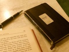 25th Creativity Challenge: How has your diary made it through 2014? - Lists, plans, and notes for 2014