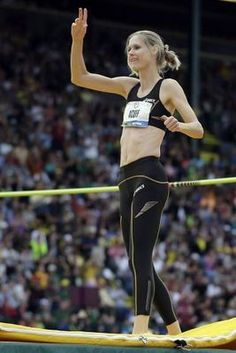 Amy Acuff- 36 year old track and field- high jump