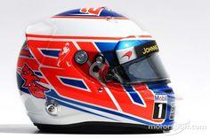 The helmet of Jenson Button, McLaren   F1 photos   Main gallery   Motorsport.com