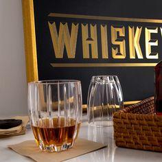 Gold Foil Whiskey Print
