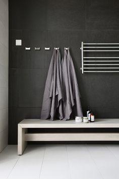 Maison Valentina is a luxury brand specialized in high-end bathroom furniture. Laundry In Bathroom, Small Bathroom, Garage Bathroom, Home Decor Styles, Cheap Home Decor, Bathroom Inspiration, Home Remodeling, House Design, Towel Warmer