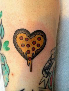 pizza heart~~not exactly an idea but I will get a pizza tattoo <3