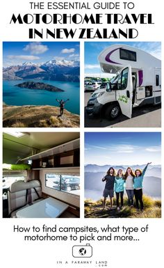 Everything You Should Know About Campervan Travel In New Zealand - In A Faraway Land