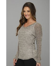 Gabriella Rocha Luna Scoop Neck Long Sleeve Top
