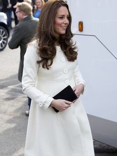 Everything to Know About Kate Middleton's Pregnancy via @WhoWhatWear