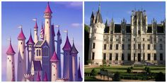 Real Life Disney Princess Dwellings! Visit and stay at any of your favorite princess's lifestlye- built to suit the royal urges all we women have (even if we hide it). <3