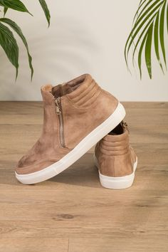 Floyd by Smith Elle boots beige imitert skinn sko - Floyd.no