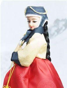 Korean Traditional #Hanbok Doll