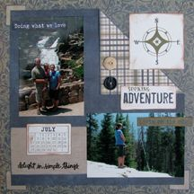 Seeking Adventure -Paper Loft