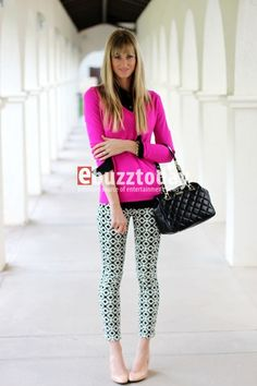 Fashion Trends: How to wear printed pants