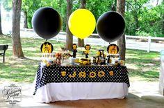 Boy's Transformer Birthday Party Decorations