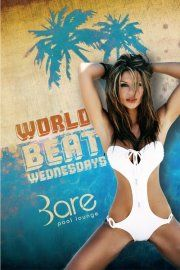 World Beat WednesdaysBare proudly present the launch of their new mid-week pool part, World Beat Wednesdays! Featuring the best in Latin, Caribbean, and European beats from DJ duo Tribal brothers, this is going to quickly become the place to hang while getting over 'hump day'. Doors are open seven days a week at 11am. For more information or to book cabanas and daybeds call 702.588.5656.