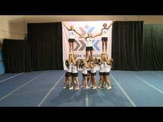 Oklahoma (16-person pyramids) - High School STUNT