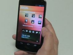 Get Ubuntu Phone OS Theme for your Android phone
