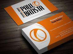 Logo e cartão / Paulo Batista - Personal Trainer on Behance