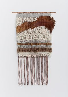 chunky wool wall hanging - mohawk general store