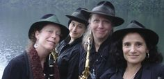 IL SAX È DONNA; Venerdì 7 novembre, ExWide, Pisa. Il jazz di New Orleans e quello d'avanguardia. Ma anche funk, soul e atmosfere klez. Da Seattle il quartetto tutto al femminile. Biglietto 5 euro.  INFO:http://www.exwide.com
