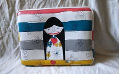 """Marc By Marc Jacobs 14"""" Flower Girl Laptop Sleeve #MarcJacobs #13""""LaptopSleeve #MarcByMarcJacobsLaptopSleeve"""