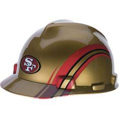 San Francisco 49ers Hard Hat - NFL Licensed Construction Safety