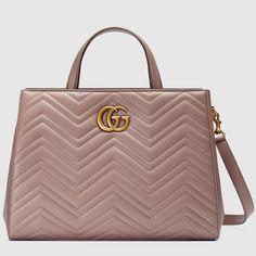 d0afafde106534 GG Marmont matelassé top handle bag Gucci Bag 2017, Gucci Purses, Gucci  Handbags,