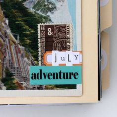 beautiful travel album-journal idea perfect for my way-overdue-to-be-printed travel photographs!