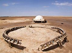 Rä di Martino - Photo Series Visits Abandoned Star Wars Film Sets in the Tunisian Desert
