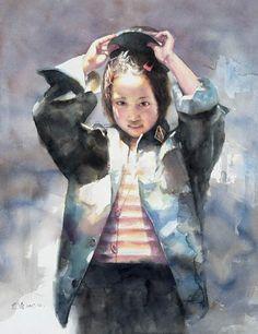외국작가 소개 - Watercolor Paintings of Shi Tao