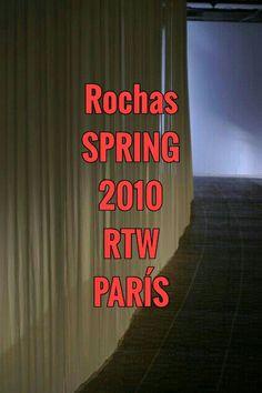 ROCHAS ¤¤¤ SPRING ¤¤¤ 2010 ¤¤¤ RTW ¤¤¤ PARÍS