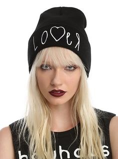 Lover Watchman Beanie | Hot Topic Hot Topic, Beanie, Hats, Clothes, Fashion, Store, Wool, Outfits, Moda