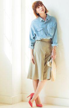 Tsubasa Honda, Movie Stars, High Waisted Skirt, Short Hair Styles, Comfy, Asian, Female, Womens Fashion, Skirts
