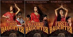 All three books are full of romance, adventure, swords and blunderbusses, and skyships. Buy all three—you won't want to wait for the next one. Best Books Of 2014, Three Daughters, Fantasy Romance, First Daughter, Good Books, Bollywood, Fiction, Adventure, My Favorite Things