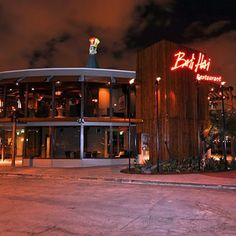 Bali Hai Restaurant is a great place to go for great views of San Diego Harbor and the city.