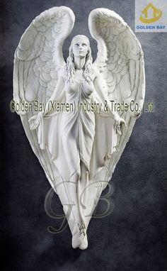 Guardian Angel Wall Resin Sculpture The Childrens Guardian Angel . Angle Tattoo, Wing Tattoo Designs, Design Tattoos, Statue Ange, Gardian Angel, Cherub Tattoo, Cemetery Angels, Resin Sculpture, Tattoos