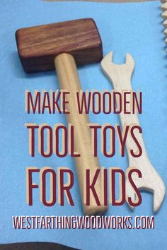 How to make wooden tool toys for kids. This is a step by step woodworking book full of easy projects that you can make for your children or grandchildren. These tools are all high quality, great looking, and fun for kids to play with. These are sure to be
