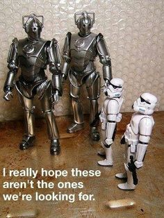 Haha Star Wars and Doctor Who.I really don't think those are the droids they… The Doctor, Doctor Who, Star Wars, The Force Is Strong, Geek Out, Superwholock, Tardis, Science Fiction, Funny Stuff