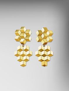 18kt Yellow Gold Brillante Earclips