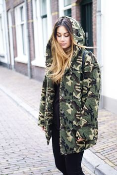 Army teddycoat